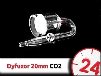 SZKLANY DYFUZOR CO2 (Nano) 20mm