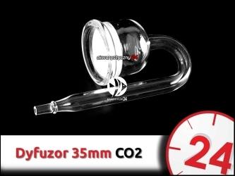 SZKLANY DYFUZOR CO2 35mm