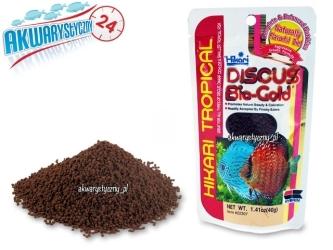 HIKARI Discus Bio Gold 80g - pokarm wybarwiający dla paletek najwyższej jakości