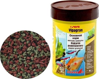 SERA Vipagran (00705) - Pływający pokarm podstawowy w granulacie dla ryb akwariowych wysokiej jakości
