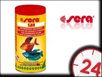 SERA SAN - Wybarwiający pokarm dla ryb akwariowych