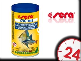 SERA GVG-mix 100ml   Smakowity pokarm dla ryb akwariowych z jodem