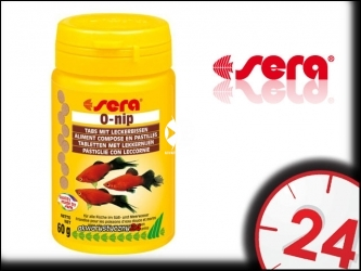 SERA O-NIP 24tabletki - Pokarm dla ryb akwariowych w tabletkach