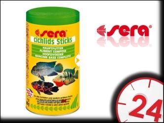 SERA CICHLID STICKS 1000ml - Pokarm podstawowy dla pielęgnic