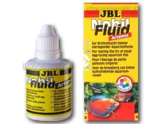 JBL Nobilfluid Artemia 50ml - Pokarm w płynie z larwami solowca i witaminami dla narybku