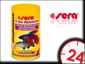 SERA FD BLOODWORMS 100ml - Liofilizowane larwy komarów