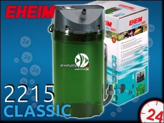 EHEIM CLASSIC 2215 (2215020) - Filtr zewnętrzny do akwarium 120-350l