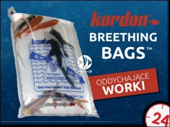 KORDON breathing bag - Worek oddychający do transportu ryb