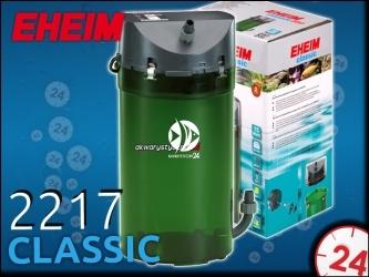 EHEIM CLASSIC 2217 (2217020) - Filtr zewnętrzny do akwarium 180-600l