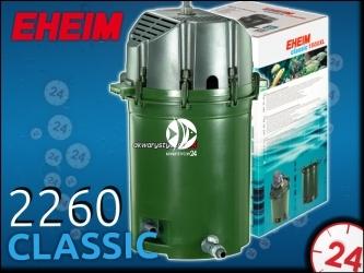 EHEIM CLASSIC 2260 (2260010) - Filtr zewnętrzny do akwarium 300-1500l
