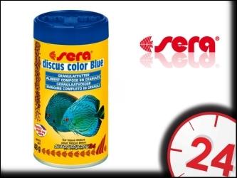 SERA DISCUS COLOR BLUE - Specjalny pokarm dla paletek zielonych i niebieskich