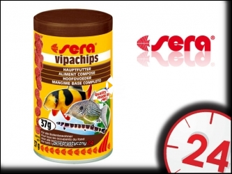 SERA Vipachips - Pokarm dla ryb akwariowych dennych