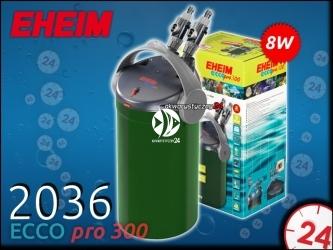 EHEIM ECCO PRO 2036 (2036020) - Energooszczędny filtr zewnętrzny do akwarium maks. 300l