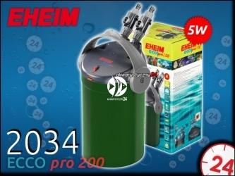 EHEIM ECCO PRO 2034 (2034020) - Energooszczędny filtr zewnętrzny do akwarium maks. 200l