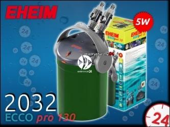 EHEIM ECCO PRO 2032 (2032020) - Energooszczędny filtr zewnętrzny do akwarium maks. 130l