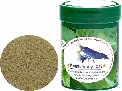 NATUREFOOD Premium Aty XXS (34310) - Pokarm dla krewetek filtrujących