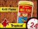 TROPICAL KRILL FLAKE - Wybarwiający pokarm z krylem dla wybrednych ryb 185g/1L