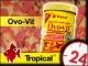 TROPICAL OVO-VIT - Uzupełniający, wysokoenergetyczny pokarm z dodatkiem żółtek jaj 185g/1L