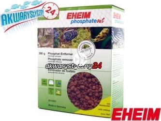 EHEIM PHOSPHATEOUT 1L (390g) + TOREBKA (2515051) - Chemiczny wkład do usuwania fosforanów, do akwarium