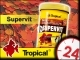 TROPICAL SUPERVIT - Wieloskładnikowy, podstawowy pokarm płatkowany z beta-glukanem 185g/1L
