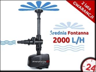 Aqua Nova NP-2000 - Pompa fontannowa do oczka wodnego